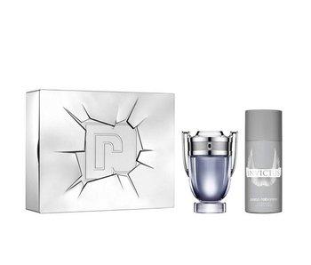 Paco Rabanne Invictus Gift Set, EDT Spray 1 ml / Deo Spray 15 ml