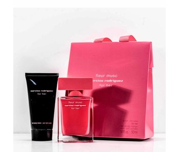 Narciso Rodriguez Fleur Musc For Her Gift Set, Edp Spray 3ml/Body Lotion 5ml