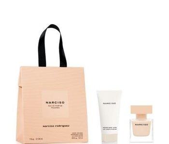 Narciso Rodriguez Narciso Poudree Gift Set, Edp Spray 3ml/Body Lotion 5ml