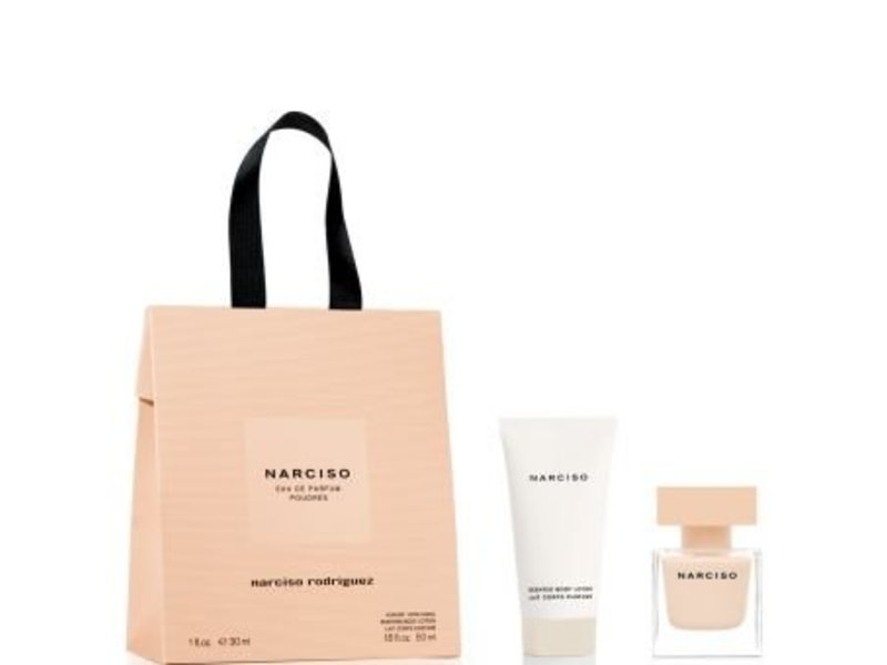 Narciso Rodriguez Narciso Poudree Giftset, Edp Spray 3ml/Body Lotion 5ml