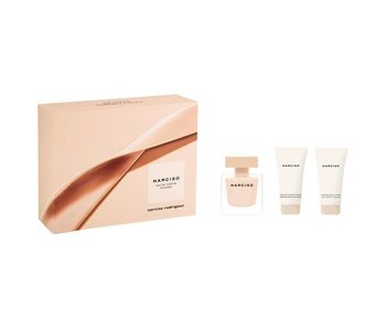 Narciso Rodriguez Narciso Poudree Gift Set, Edp Spray 5ml/Shower Gel 5ml/Body Lotion 5ml