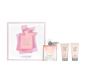 Lancôme La Vie Est Belle Gift Set, Edp Spray 75ml/Body Lotion 5ml/Shower Gel 5ml