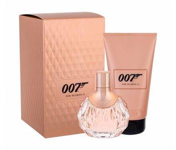 James Bond 007 For Women II Gift Set, Edp Spray 5ml/Body Lotion 15ml