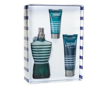 J.P. Gaultier Le Male Gift Set, Edt Spray 125ml/Shower Gel 75ml/After Shave 5ml