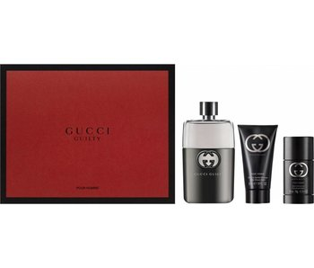 Gucci Gucci Guilty Pour Homme Gift Set, Edt Spray 9ml/Aftershave Balm 75ml/Shower Gel 5ml