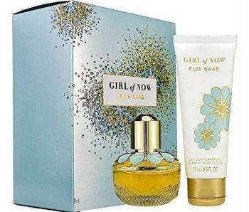 Elie Saab Girl Of Now Gift Set, Edp Spray 3ml/Body Lotion 75ml