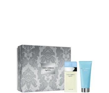 Dolce & Gabbana Light Blue Pour Femme Gift Set, edt spray 25ml/body cream 5ml