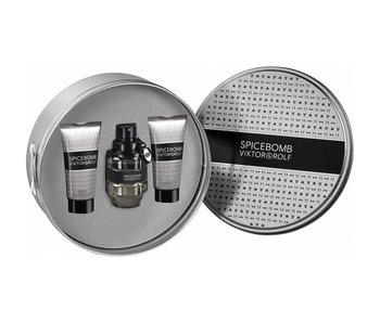 Viktor & Rolf Spicebomb Gift Set EDT 50 ml, Shaving Cream Spicebomb 50 ml and After Shave Balm Spicebomb 50 ml