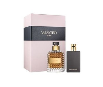 Valentino Uomo Gift Set EDT 100 ml After Shave Balsam (After Shave Balm) 100 ml Uomo