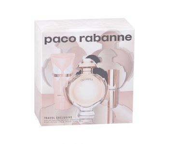 Paco Rabanne Olympea EDP 80 ml, Mini Olympea EDP 10 ml a Body Lotion Olympea 75 ml