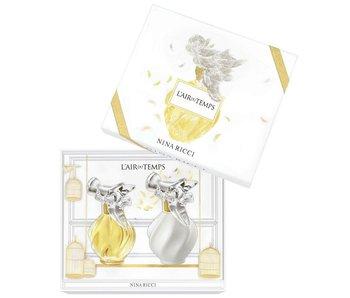 Nina Ricci L'Air du Temps Gift Set EDT 50 ml body lotion and L'Air du Temps 100 ml