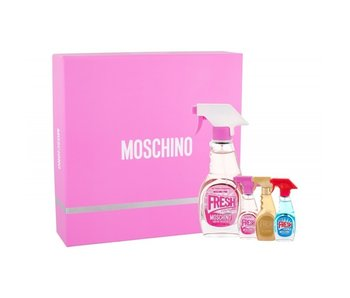 Moschino Pink Fresh Couture EDT 50 ml, Mini Pink Fresh Couture EDT 5 ml, Mini Fresh Couture EDT 5 ml a Mini Fresh Couture Gold E