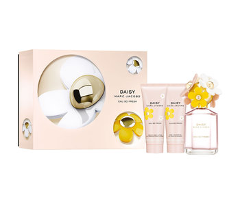 Marc Jacobs Daisy Eau So Fresh Gift Set EDT 75 ml, Daisy Eau So Fresh body lotion 75 ml and Daisy Eau So Fresh shower gel 75 ml