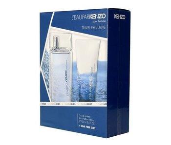 Kenzo Le Eau par Kenzo pour Homme Gift Set EDT 100 ml shower gel and Eau par Kenzo Le 75 ml