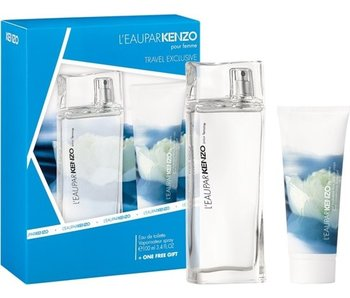 Kenzo Le Eau par Kenzo Gift Set EDT 100 ml shower gel and Eau par Kenzo Le 75 ml