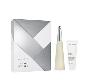 Issey Miyake L'Eau D'Issey Gift Set EDT 50 ml body lotion and L'Eau D'Issey 100 ml
