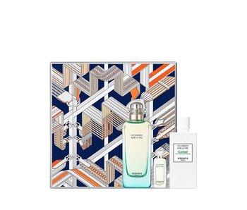 Hermes Un Jardin Sur Le Nil EDT 100 ml, Body Lotion 80 ml a Mini EDT 7,5 ml