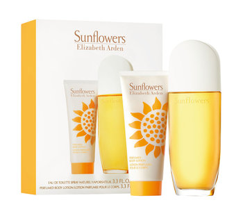 Elizabeth Arden Sunflowers Large Gift Set EDT 100 ml body lotion and 100 ml Sunflowers