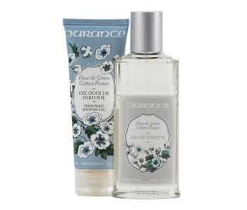 Durance Cotton Flower EDT 100 ml Shower gel Cotton Flower 75 ml
