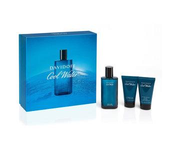 Davidoff Cool Water Man Gift Set EDT 75 ml shower gel Cool Water Man 50 ml After Shave Balm Cool Water Man 50 ml