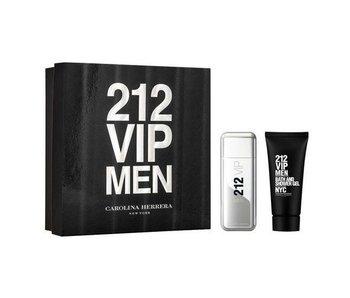 Carolina Herrera 212 VIP Men Gift Set EDT 100 ml shower gel and 212 VIP Men 100 ml