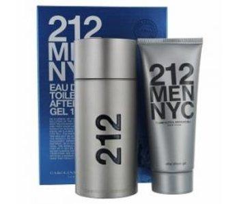 Carolina Herrera 212 Men Gift Set EDT 100 ml and After Shave Gel (gel, after shave) 212 Men 100 ml