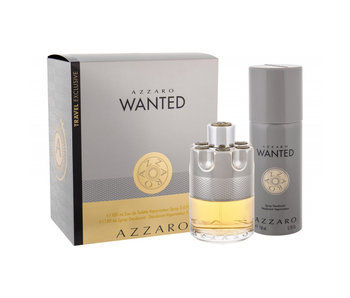 Azzaro Wanted EDT 100 ml a deospray Wanted 150 ml