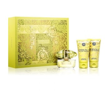 Versace Yellow Diamond EDT + BODY LOTION + SHOWER GEL