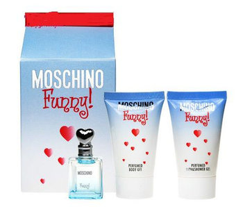 Moschino Funny EDT 4ml + SHOWER GEL + BODY LOTION