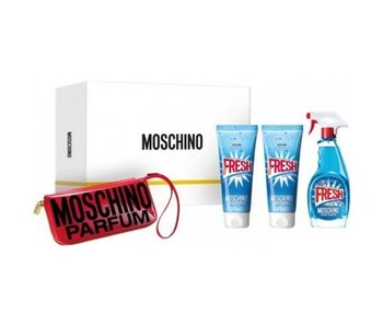 Moschino Fresh Couture EDT + BODY LOTION + SHOWER GEL + Manicure Set
