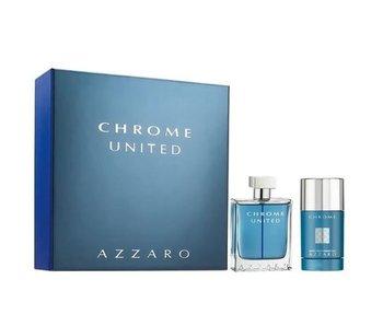 Azzaro Chrome United EDT 100ml + non - alc STICK