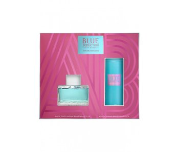 Antonio Banderas Blue Seduction for Women SET EDT 80 ml + deospray 150 ml