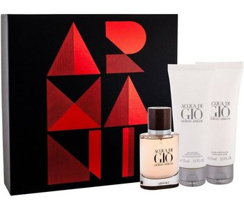 Armani Acqua Di Gio Absolu SET EDP 40 ml + Shower Gel 75 ml + Aftershave Balm 75 ml