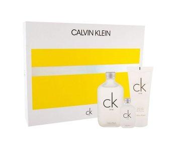 Calvin Klein CK One SET EDT 100 ml + EDT 15 ml + Shower Gel 100 ml