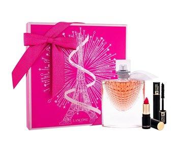 Lancôme La Vie Est Belle SET EDP 50 ml + Lipstick L´Absolu Rouge Matte 378 Rose 1,6 g + Mascara Hypnose 2 ml