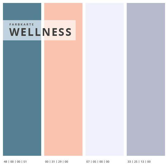 Wandabsorber 3er Set Wellness, Format 2:1