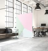 """Akustik Raumteiler mit Design """"Sakura"""""""