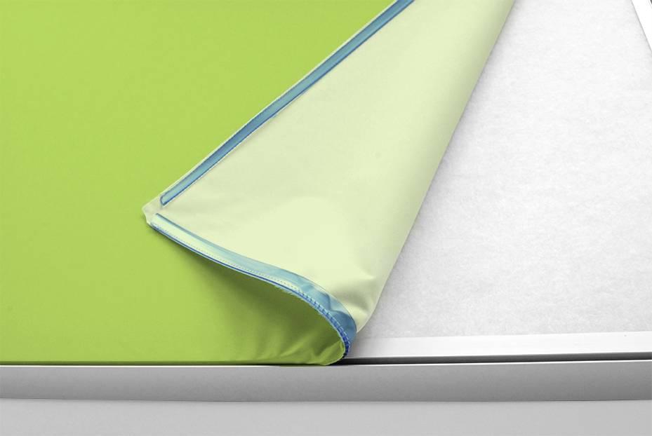 Akustik Raumteiler 120 cm breit, unifarben