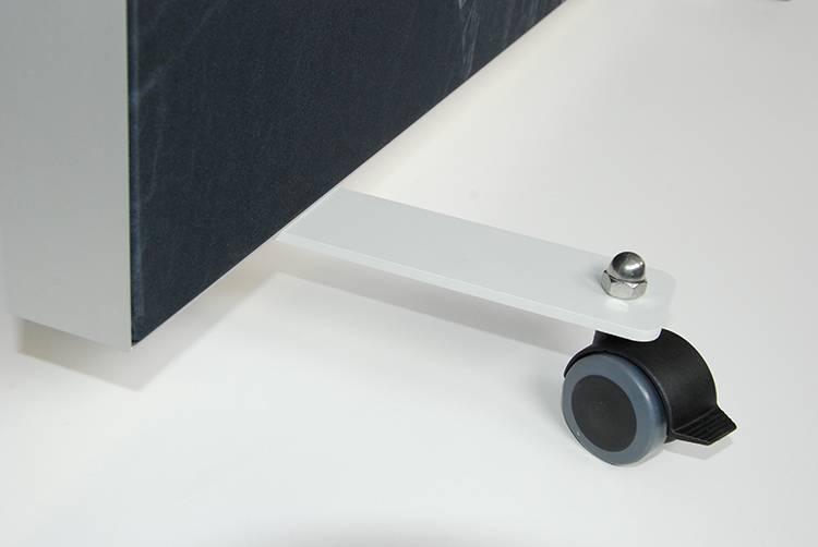 Akustik Raumteiler 100 cm breit, unifarben