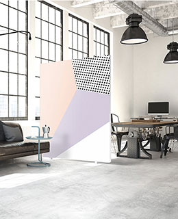 Akustik Raumteiler Design