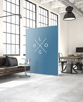 Akustik Trennwände Raumteiler Kundenmotiv
