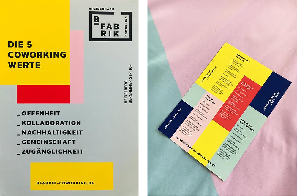 Schalldämmung Wand: Akustikbilder in den Corporate Design Farben