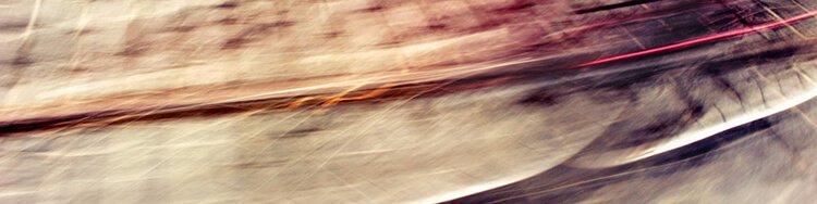 """Akustikbild mit Motiv """"Urban Lights"""" - Panorama-Format"""