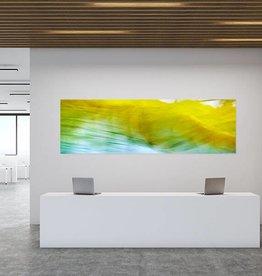 """Akustikbild mit Motiv """"Flow 1"""" - Panorama-Format"""