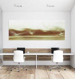 """Akustikbild mit Motiv """"Wings 48"""" - Panorama-Format"""