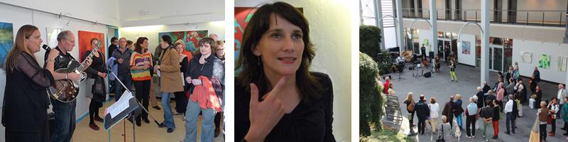 freiraum Ausstellung Sabine Minden
