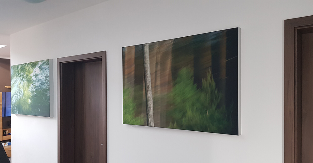 Wandbilder Wohnzimmer, Flur und Esszimmer