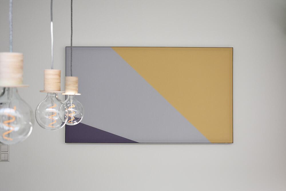 Wandbilder Wohnzimmer: einfache Lärmdämmung in Privathäusern