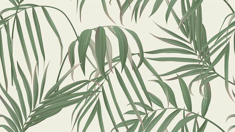 """Akustik Tisch-Trennwand """"Palm"""""""