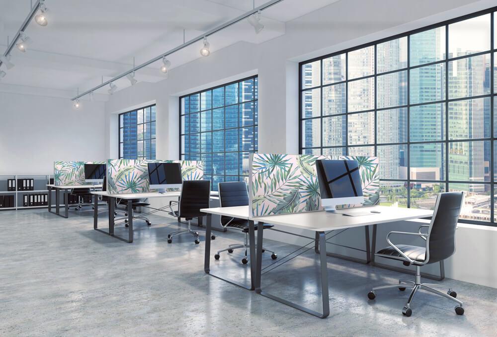 Raumteiler Ideen: Büroeinrichtung und perfekte Raumakustik